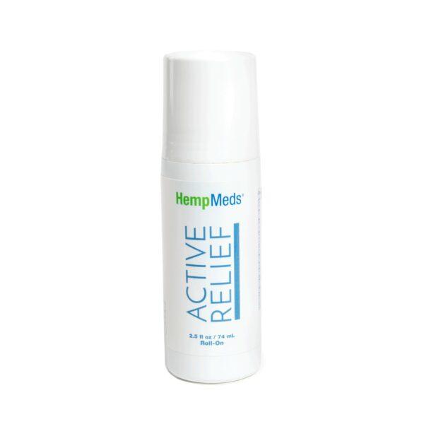 Hemp Meds, Active Relief Roll-On, 2.5oz, 10mg of hemp extract