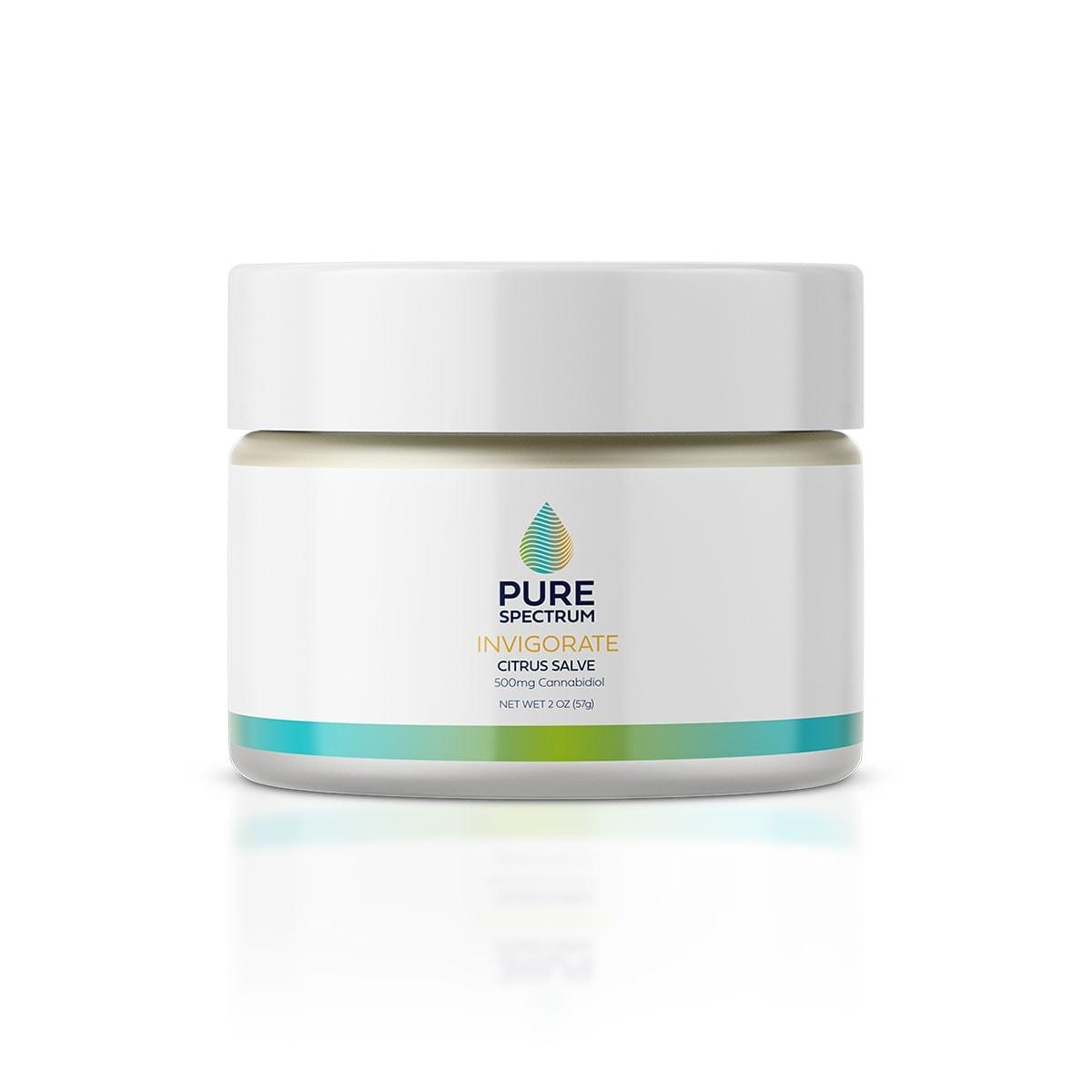 Pure Spectrum, Invigorating Salve, Citrus, Full Spectrum, 2oz