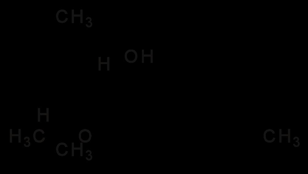 Molecular formula of THC