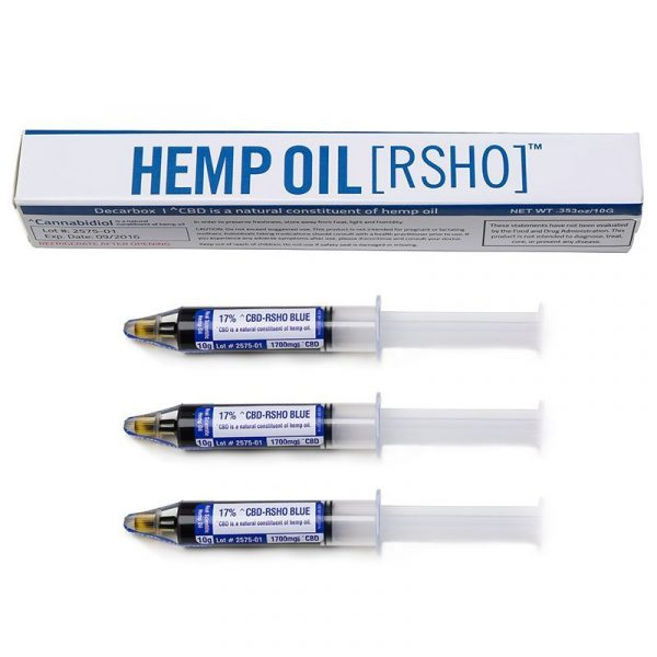 Real Scientific Hemp Oil, RSHO, Blue Label 10g Oral Applicator 3 Pack
