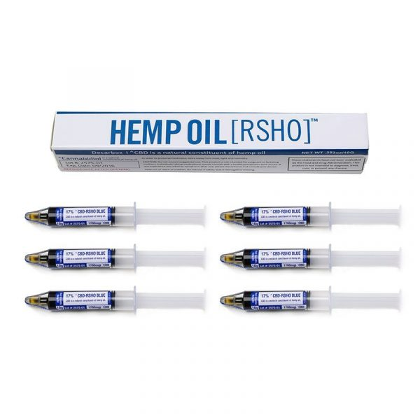 Real Scientific Hemp Oil, Blue Label 10g Oral Applicator 6 Pack