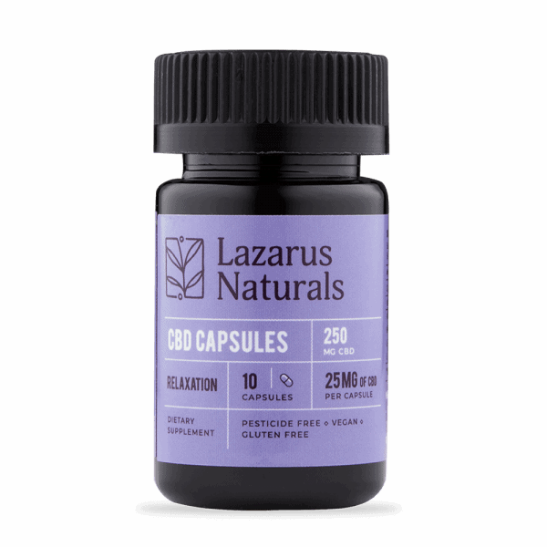 Lazarus_Naturals_Relaxation_10_capsules_25mg