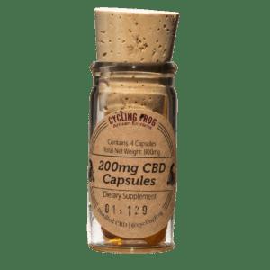 Lazarus Naturals, CBD Capsules, 4 capsules, 200mg of CBD