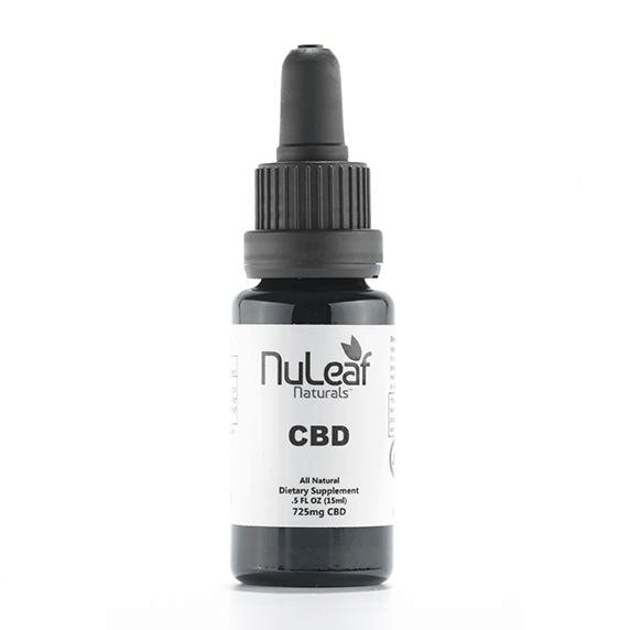 NuLeaf Naturals, CBD Oil, Full Spectrum, 15ml, 725mg of CBD