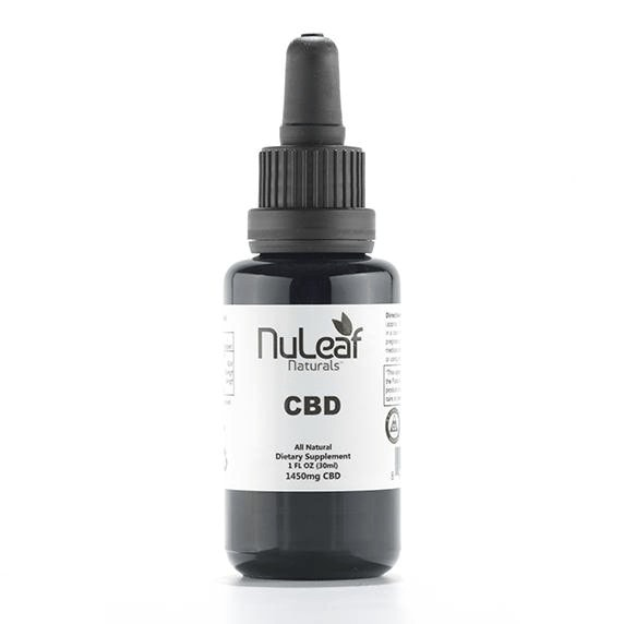 NuLeaf Naturals, CBD Oil, Full Spectrum, 30ml, 1450mg of CBD