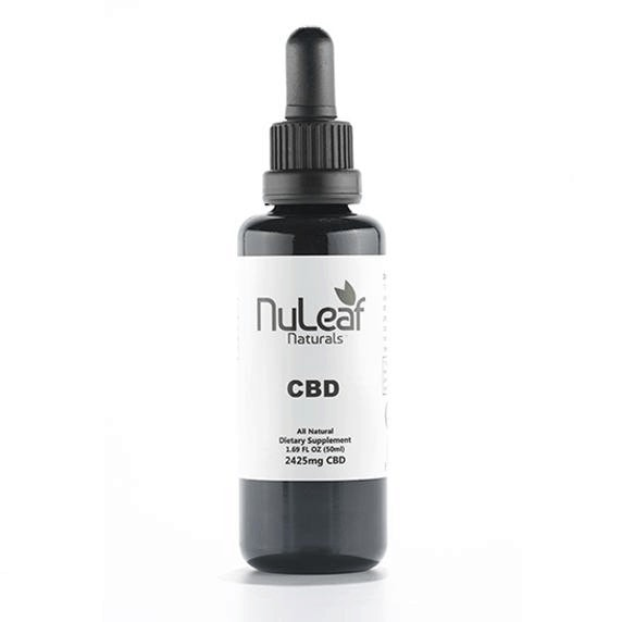 NuLeaf Naturals, CBD Oil, Full Spectrum, 50ml, 2425mg of CBD