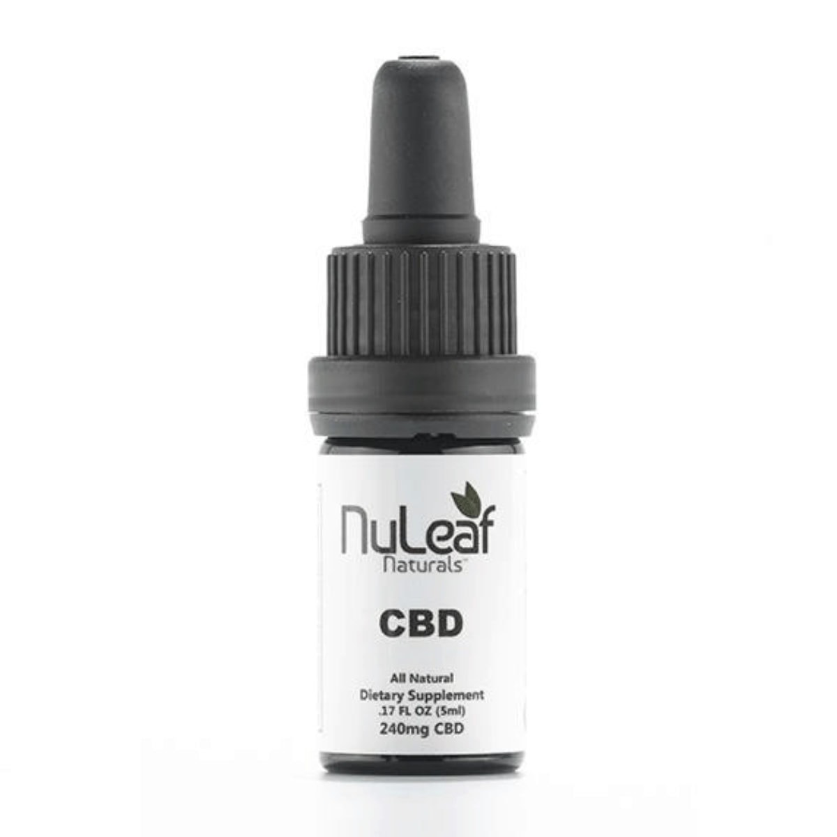 NuLeaf Naturals, CBD Oil, Full Spectrum, 5ml, 240mg of CBD