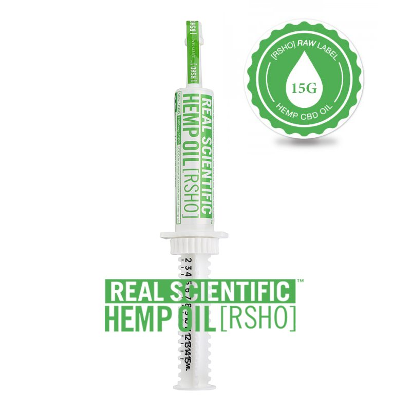 Real Scientific Green Label Oral Applicator CBD Oil
