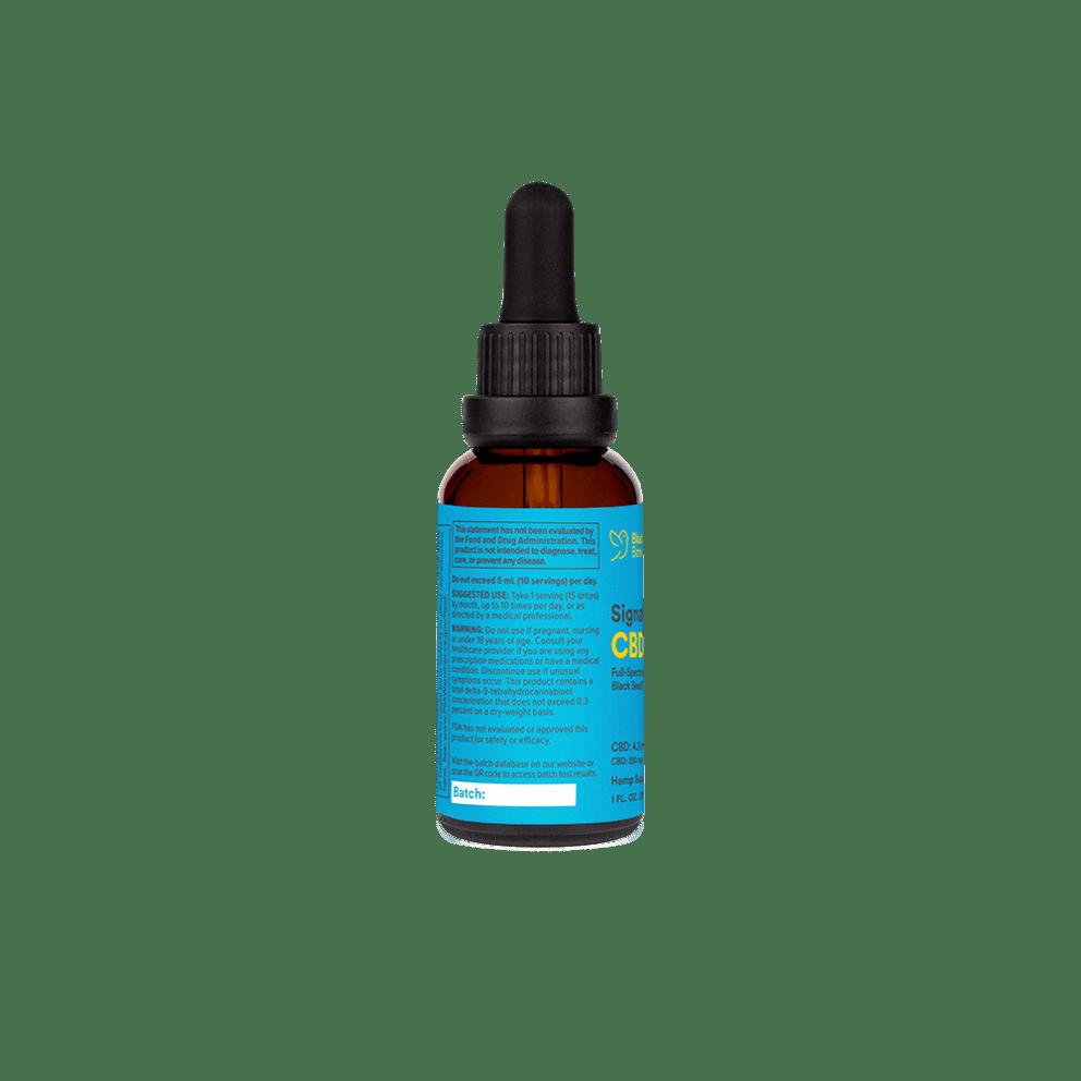 Bluebird Botanicals, Hemp CBD Extract Signature, Full Spectrum, Natural Flavor, 2oz, 500mg CBD 2