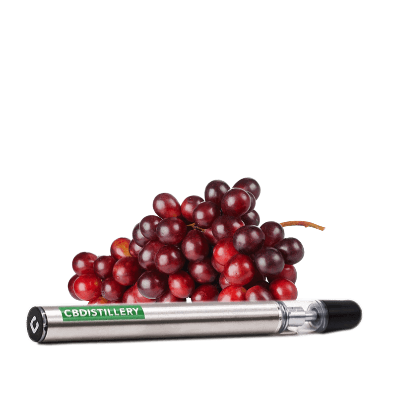 CBDistillery, Vaping Pen, Grape, 200mg of CBD
