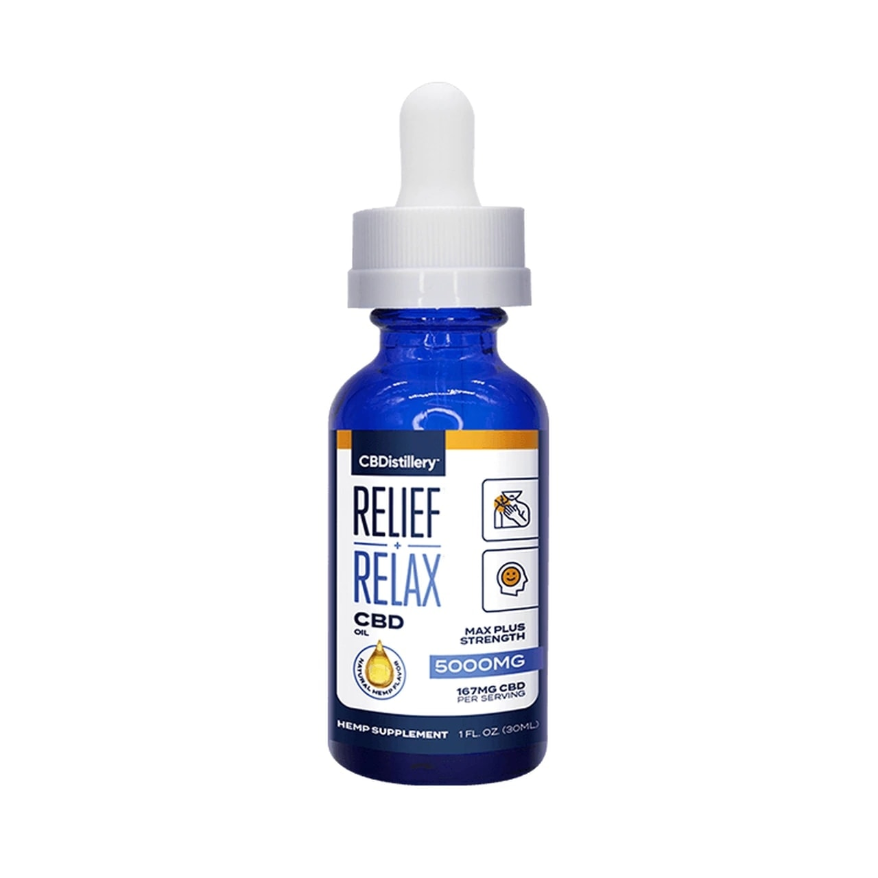 CBDistillery, CBD Oil, Full Spectrum, 1oz, 5000mg of CBD01