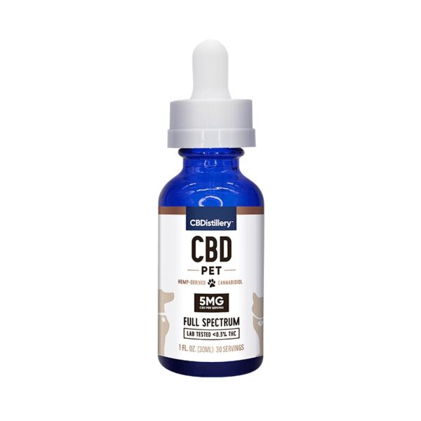 CBDistillery, CBD Pet Tincture, Full Spectrum, 1oz, 150mg of CBD