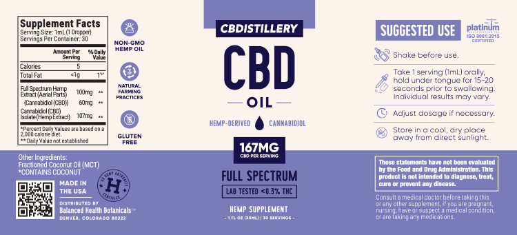CBDistillery_Tincture_5000_FS_Label