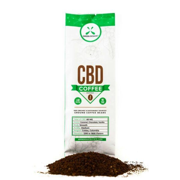 Green Roads, CBD Coffee, 8-10 cups, 2oz, 60mg of CBD