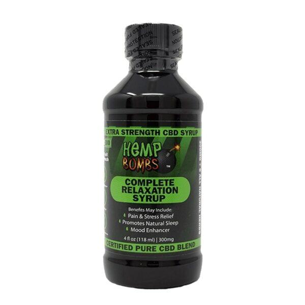 Hemp Bombs, CBD Relaxation Syrup, 4oz, 300mg of CBD