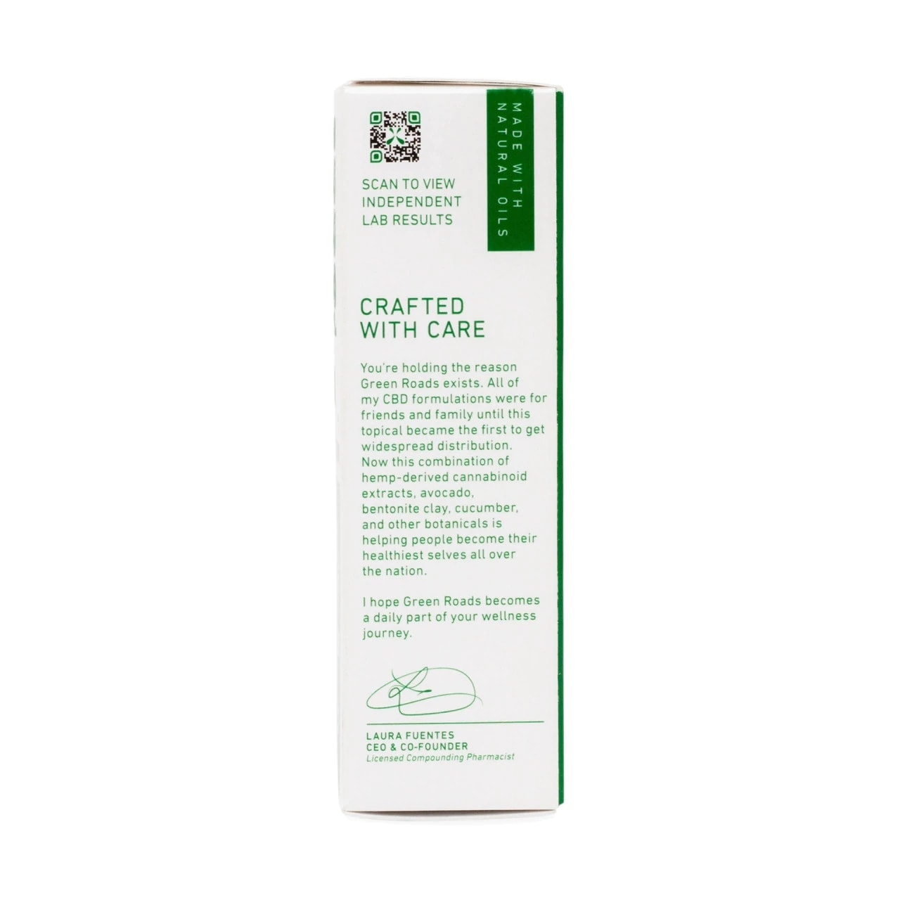 Green Roads, Muscle and Joint Relief CBD Cream, 1oz, 350mg of CBD5