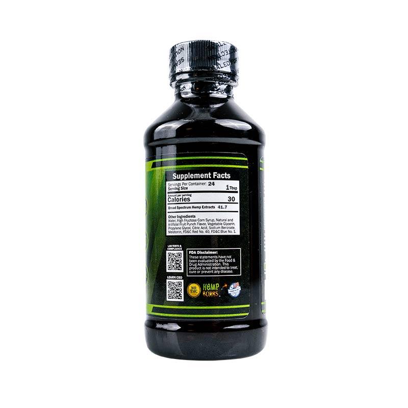 Hemp Bombs, CBD Relaxation Syrup, Broad Spectrum THC-free, 4oz, 1000mg of CBD2