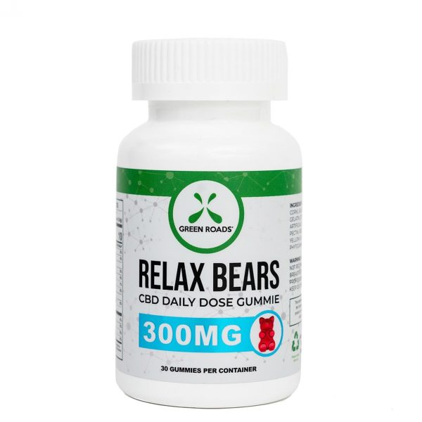 Green Roads, CBD Gummy Bears, 30 count, 300mg of CBD