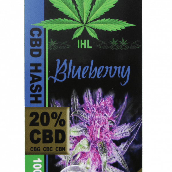 IHL, CBD Hash, Blueberry, 1gr, 200mg of CBD