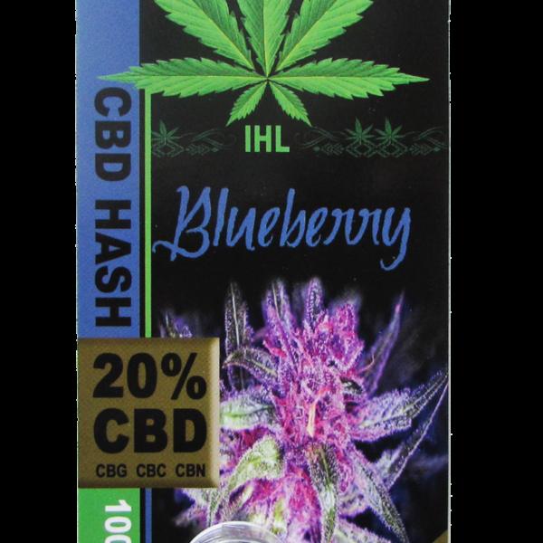 IHL, CBD Hash, Blueberry, 1gr, 200mg of CBD