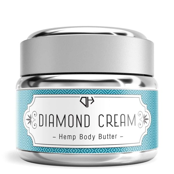 Diamond Hemp, Hemp Body Butter, 1oz