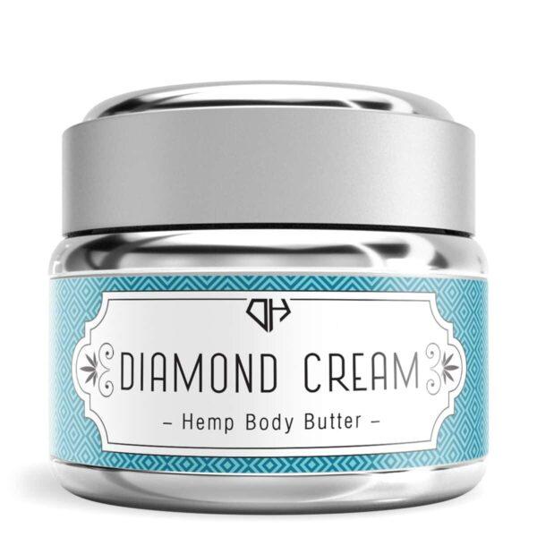Diamond Hemp, Hemp Body Butter, 1oz