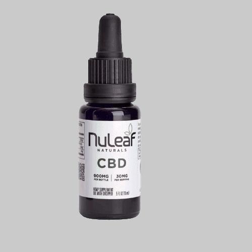 NuLeaf Naturals, Hemp CBD Oil, Full Spectrum, 15mL, 900mg CBD