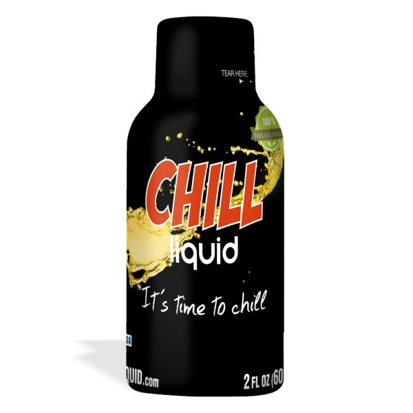 Chill, CBD Shot, 4 Pack, 2oz, 20mg of CBD
