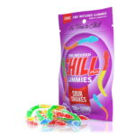 Chill Plus Gummies, CBD Sour Snakes, 10 Count, 200mg of CBD
