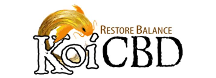 Koi CBD Brand Logo