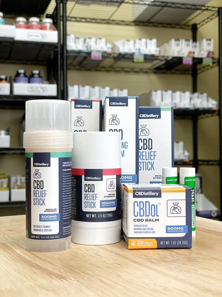 CBDistillery CBD Topical Products