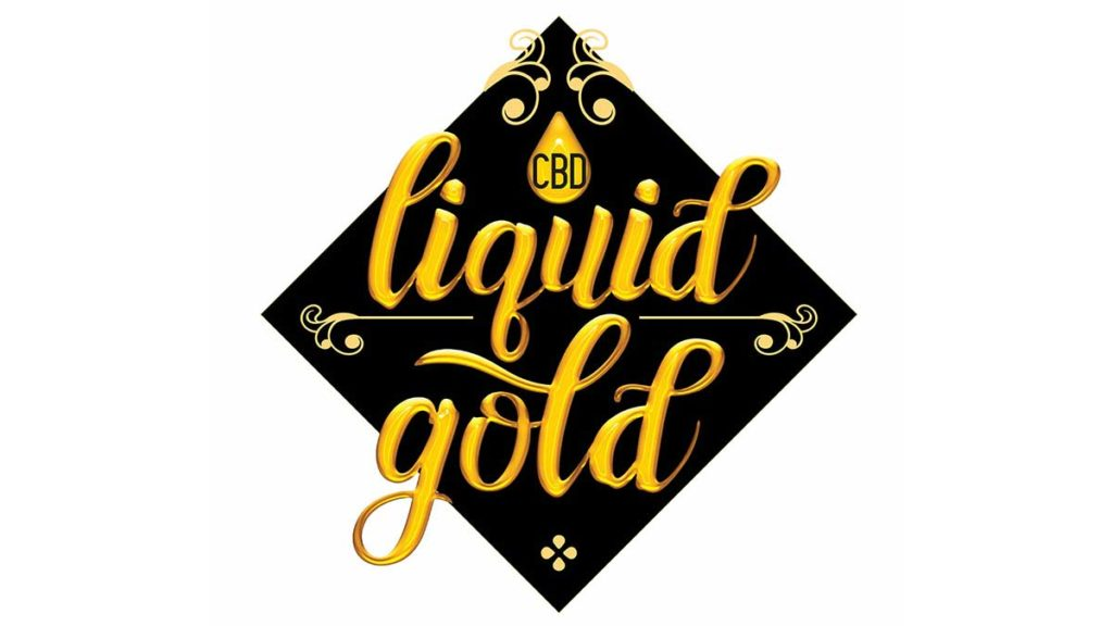 Liquid Gold CBD Brand Logo