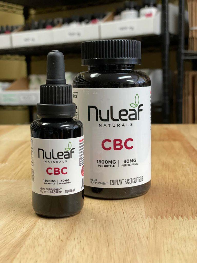NuLeaf Naturals CBC Oils and Capsules