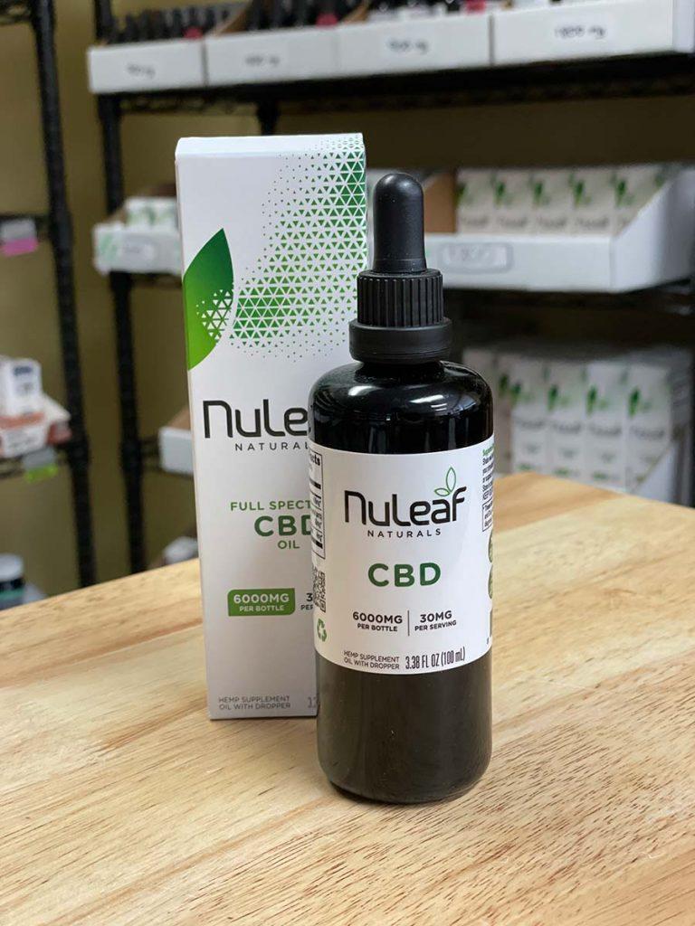 NuLeaf Naturals, Hemp CBD Oil, Full Spectrum, 100mL, 6000mg CBD