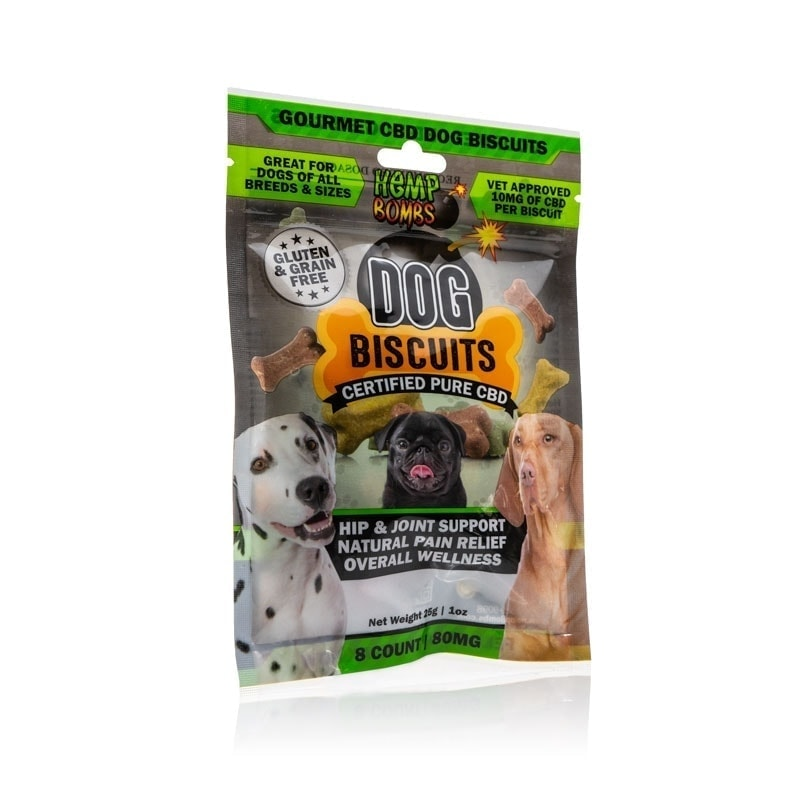 Hemp Bombs Dog Biscuits