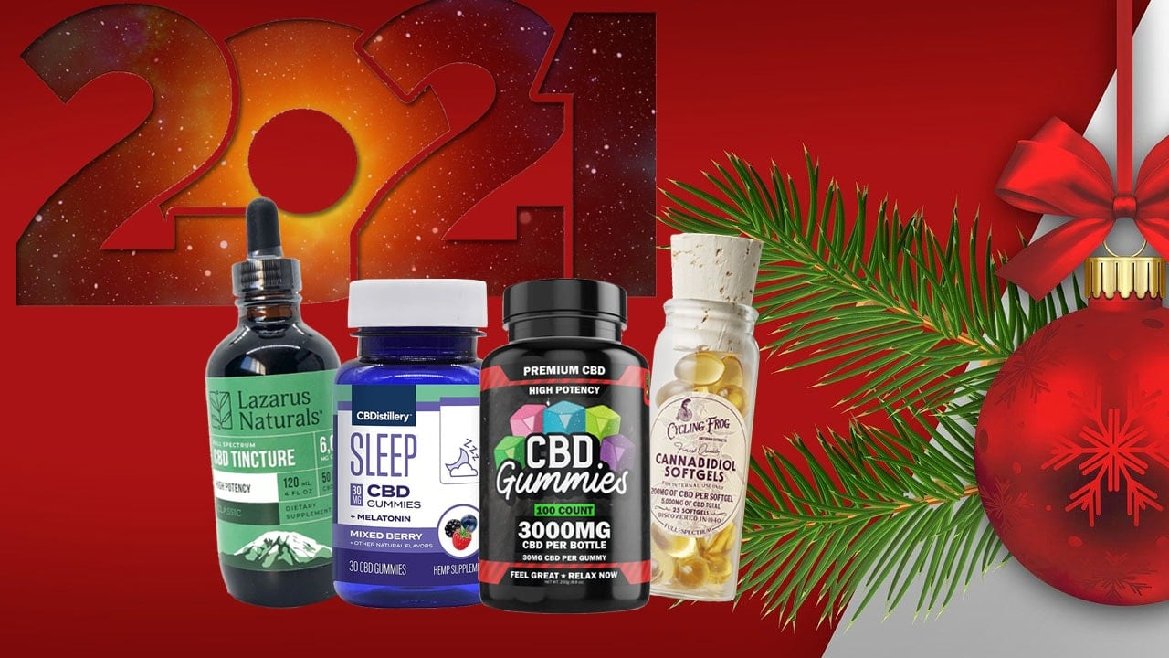 Top Holidays Gifts For 2021 With a CBD Twist
