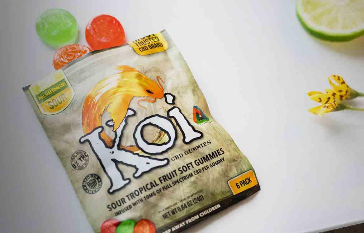 Koi-CBD,-CBD-Gummies,-Tropical-Fruit,-6-count,-60mg-of-CBD-2