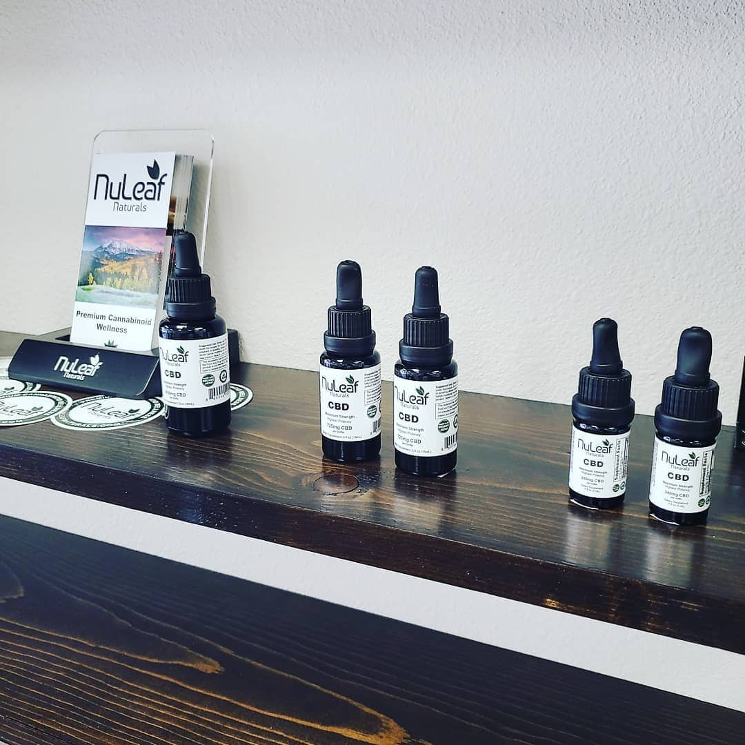 Nuleaf Naturals CBD Oil products