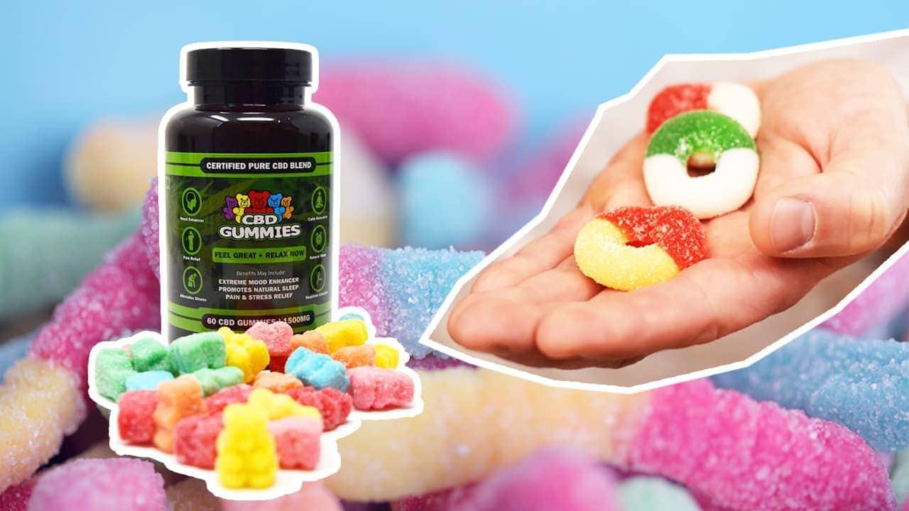 CBD Gummies Hemp-Bombs, CBDistillery, Koi
