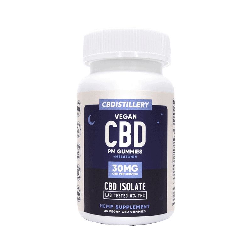 10 Best CBD Edibles: CBDistillery Gummies