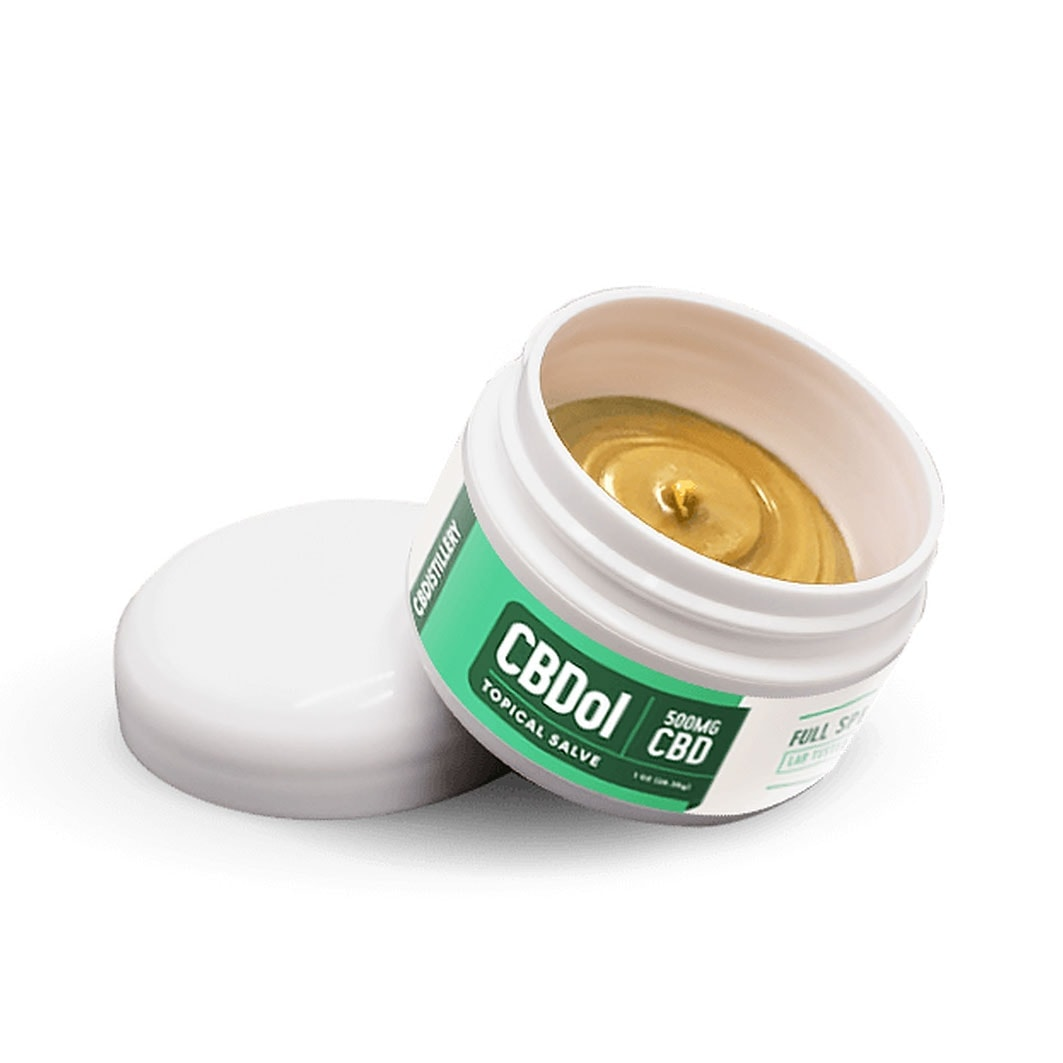 CBDistillery, CBDol Topical – CBD Salve, Full Spectrum, 500mg of CBD