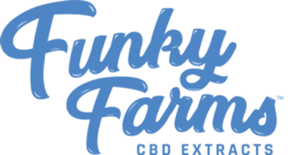 Funky Farms logo on CBD.market