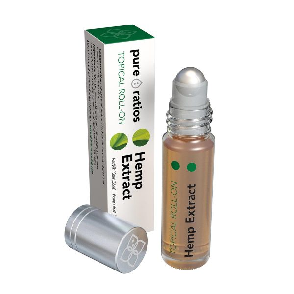 Pure Ratios, Hemp Extract Roll-On, 10ml