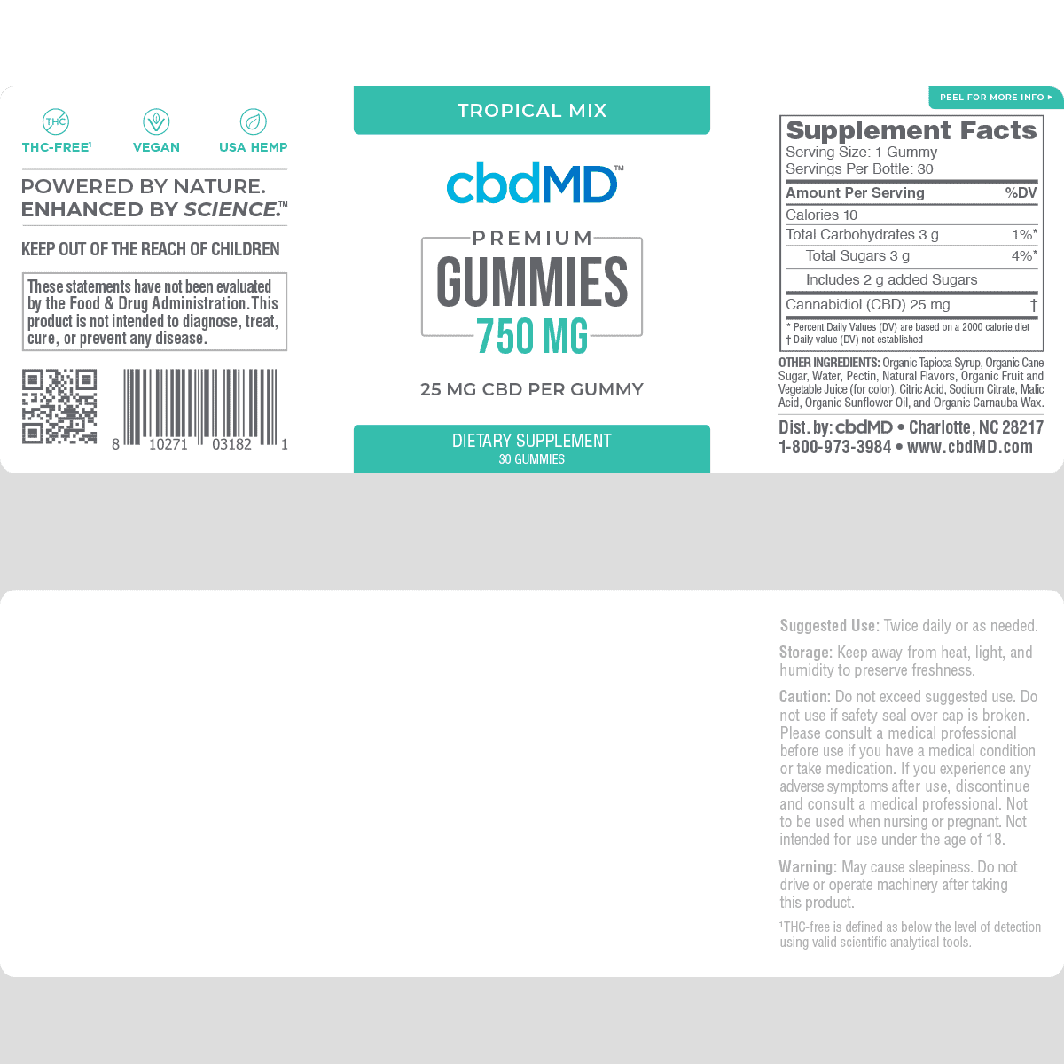 cbdMD,-CBD-Gummies,-Broad-Spectrum-THC-Free,-Tropical-Mix,-30-Count,-750mg-of-CBD2
