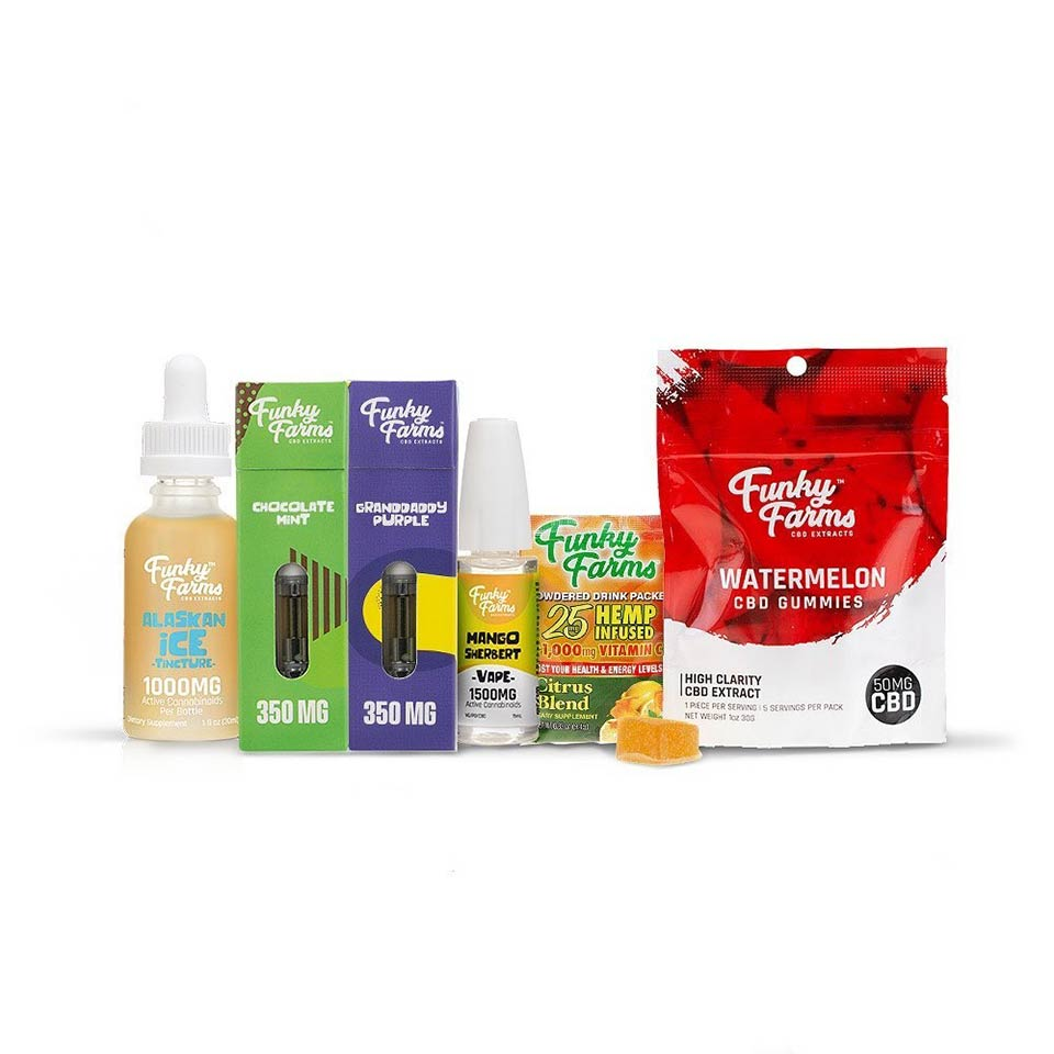 Funky Farms CBD Oil Products