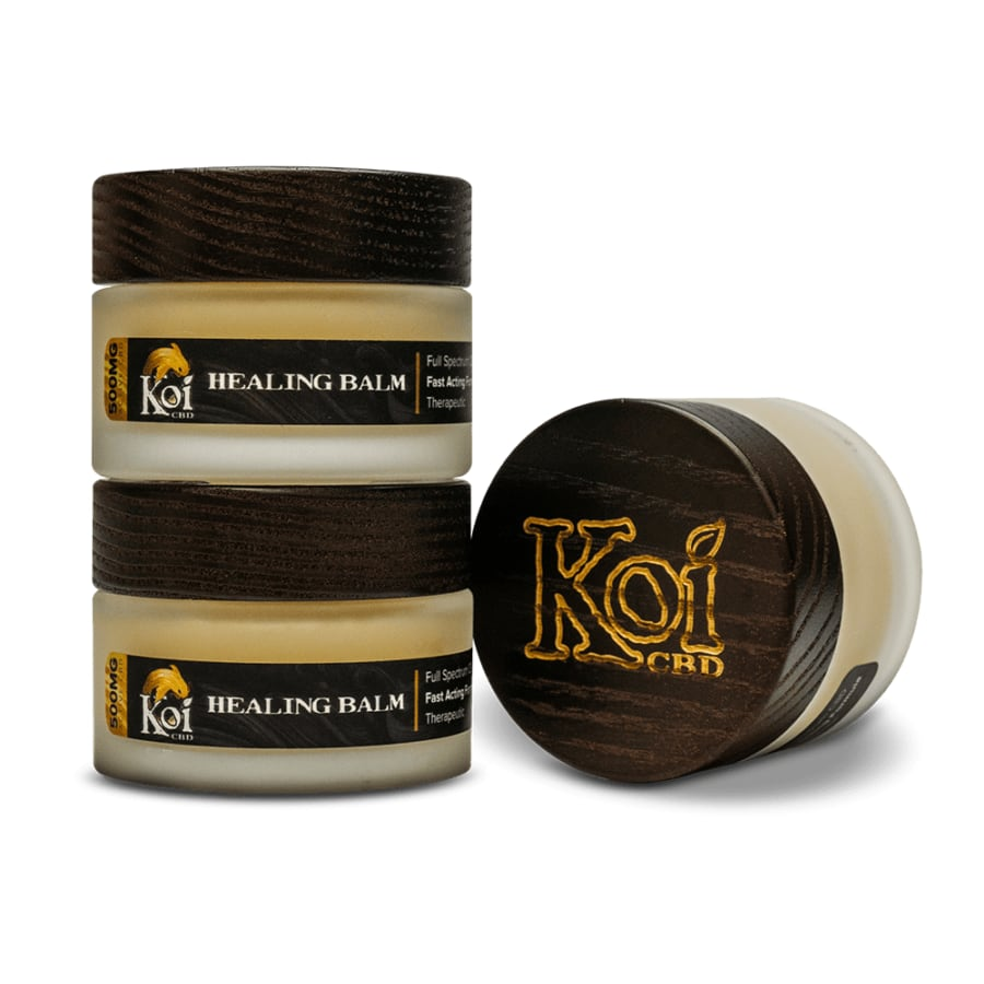 Koi CBD, Hemp Extract Healing CBD Balm, Full Spectrum, 1.7oz, 500mg of CBD3