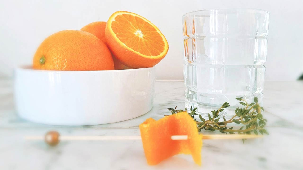 A new CBD component was made from oranges in Japan
