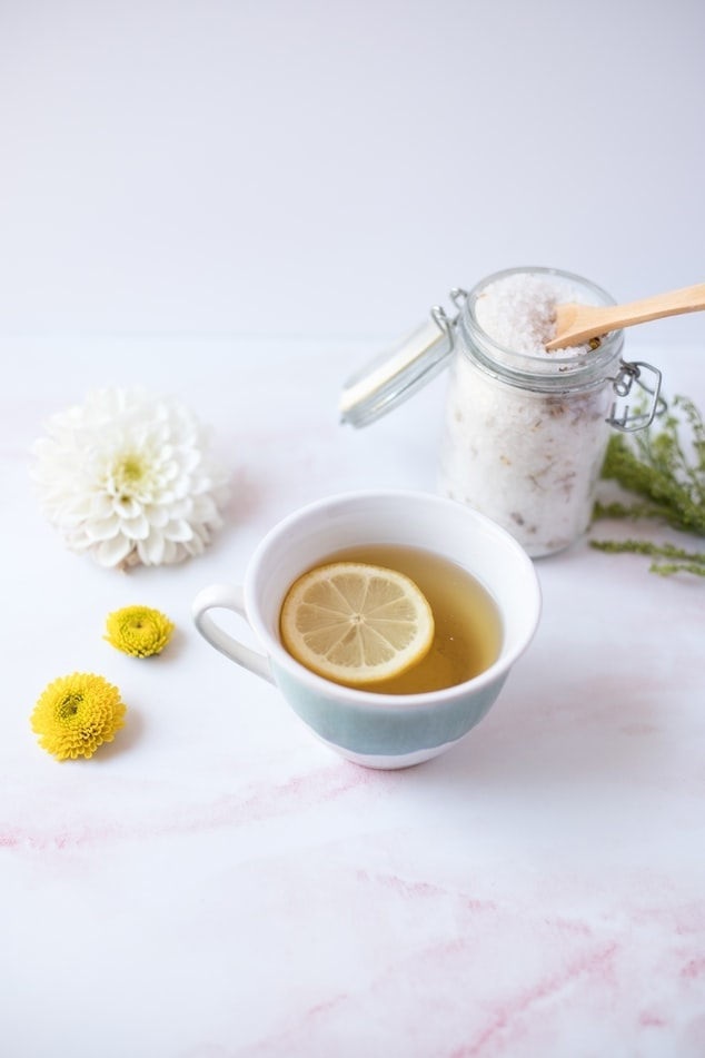 Honey-Citrus CBD Green Tea Recipe