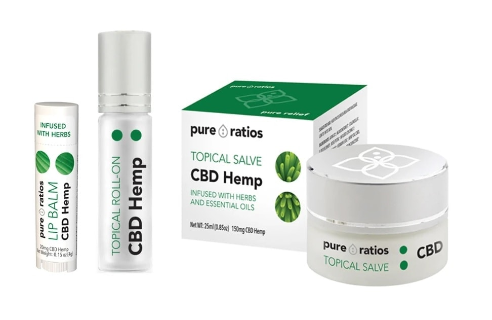 Pure Ratios CBD Topicals