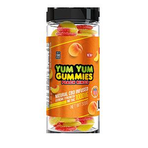 Yum Yum Gummies CBD Gummies, 35-count